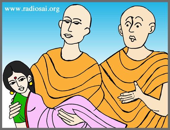 Les deux moines 1