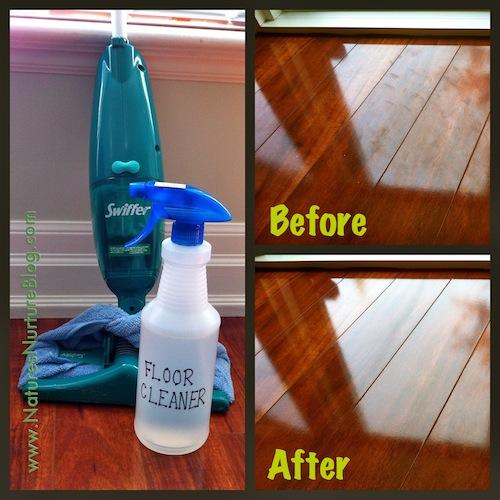 Comment faire un nettoyant à plancher 100% naturel 1
