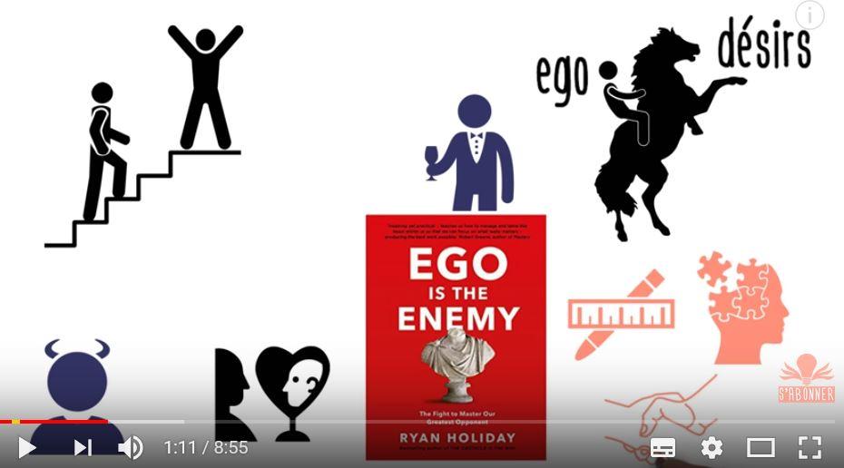 L'ennemi de la réussite, c'est l'ego 1