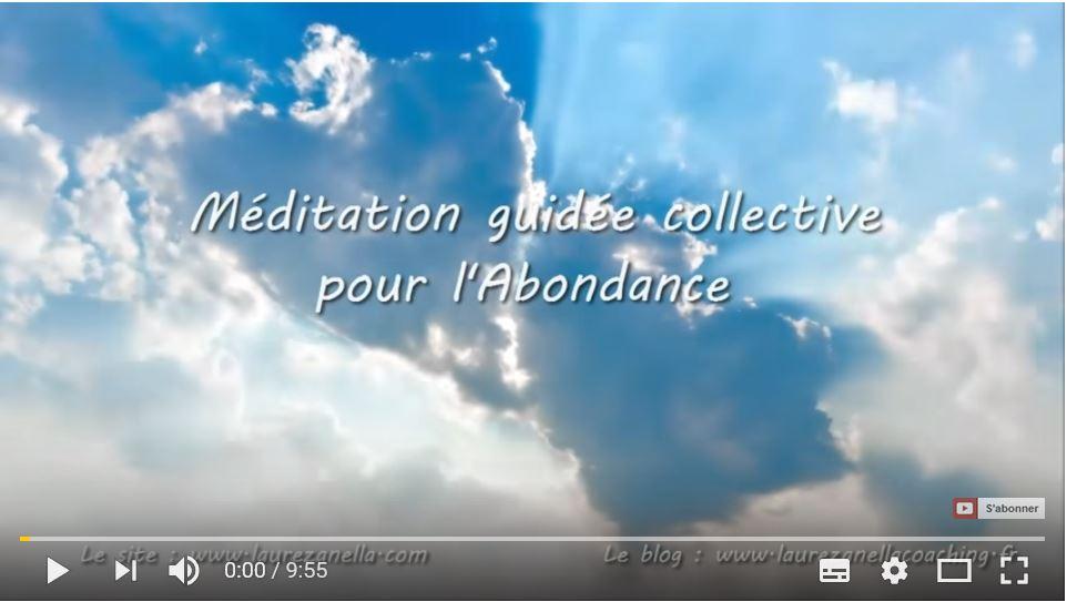Méditation guidée collective pour l'Abondance 4