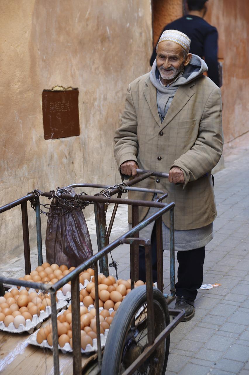 Le vendeur d'oeufs 2