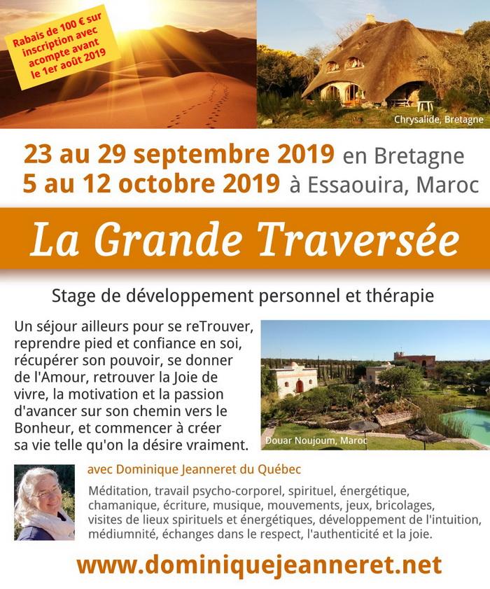 """Stage """"La Grande Traversée"""" en Bretagne et au Maroc 1"""