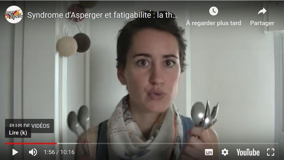 Syndrome d'Asperger & fatigabilité : théorie des cuillères 1